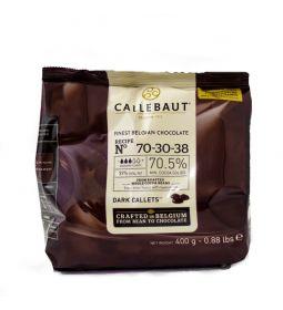 Callebaut Cobertura de Chocolate Amargo 70.4% Callets Diferentes Presentaciones