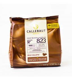 Callebaut Chocolate de Leche Obscuro 33.6% Callets Diferentes Presentaciones