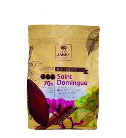 Cacao Barry Chocolate Santo Domingo 70% Bolsa 2.5 Kg.