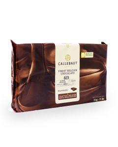 Callebaut Chocolate de Leche Obscuro 33.6% Marqueta 5 Kg.