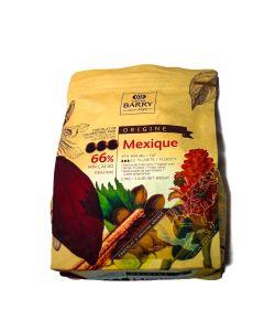 Cacao Barry Chocolate Mexique 66% Pistols Bolsa 2.5 Kg.