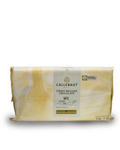 Callebaut Chocolate Blanco 28.1% Marqueta 5 Kg.