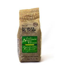 República del Cacao Chocolate amazonia 75% bolsa 2.5kg