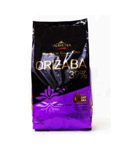 Valrhona Chocolate Orizaba 39% boton bolsa 3kg