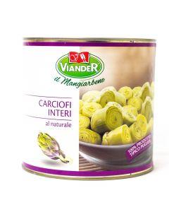 Viander Corazones de alcachofa al natural Lata 2.5 kg